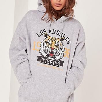 Missguided - LA Tigers Sweatshirt Grey