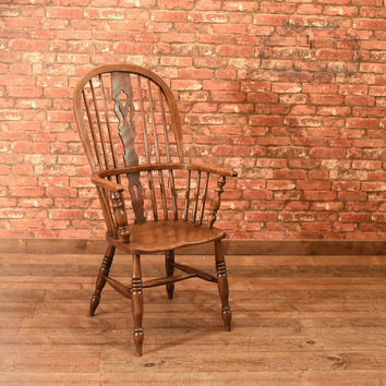 Victorian Windsor Stick Back Chair, c.1870