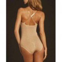Body Wrap Lites Bodysuit with Underwire Black XL