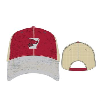 Licensed Official NCAA Vault VC Offroad Hat Cap by Top of the World KO_19_1