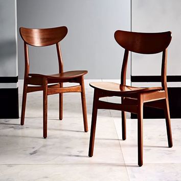 Classic Café Dining Chair - Lacquer Wood