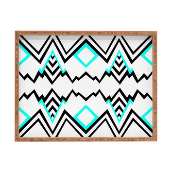 Elisabeth Fredriksson Wicked Valley Pattern 1 Rectangular Tray