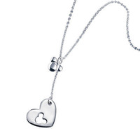 Avon: Mickey Mouse Heart Necklace