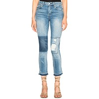Babe Cropped Jeans