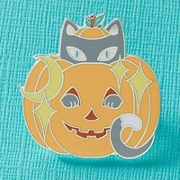 Jack-o'-Lantern Kitty | ENAMEL PIN