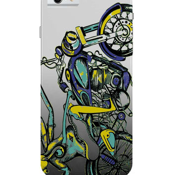 Lord Ganesh On Bullet Classic 500 iPhone 6 Case