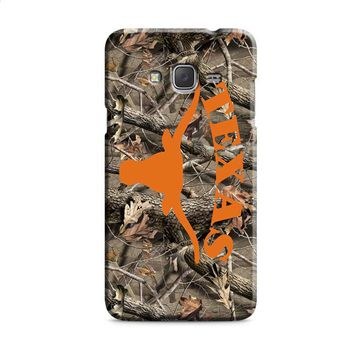 Texas Longhorns (camo branches) Samsung Galaxy J7 2015 | J7 2016 | J7 2017 Case