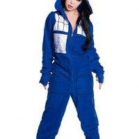 Doctor Who Tardis Hooded Onesuit