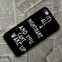 Nightmare american horror story Design Black Case iPhone, iPod, Samsung Galaxy