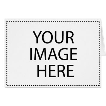 Customized Photo Template Greeting Card