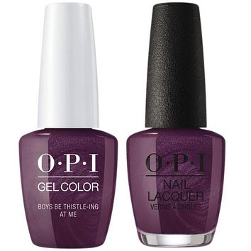 OPI - Gel & Lacquer Combo - Boys Be Thistle-ing At Me