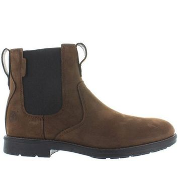 Timberland Earthkeepers Carter Notch   Brown Nubuck Chelsea Boot