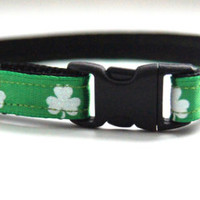 Lucky Green St. Patrick's Day Cat Collar