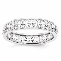 Sterling Silver Stackable Expressions Zodiac Rings