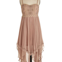ModCloth Boho Long Spaghetti Straps Every Step of the Sway Dress