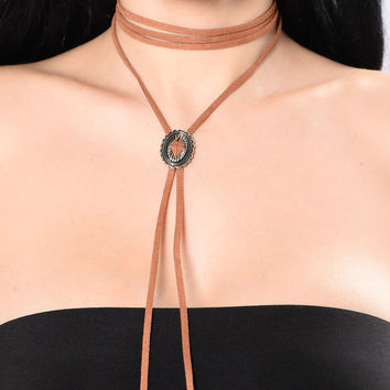 Desert Weekend Choker - Tan
