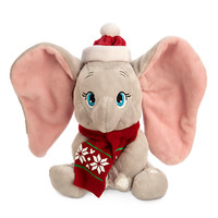 Dumbo Holiday Plush - Mini Bean Bag - 7''
