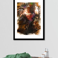 «League of Legends God Fist LEE SIN» Art Print by Dusan Naumovski - Exclusive Edition from $24.9 | Curioos