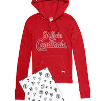 St. Louis Cardinals Bling Pullover Hoodie - PINK - Victoria's Secret