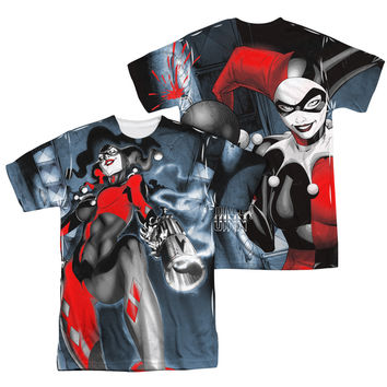 Harley Quinn Nice Shot Sublimation Mens T-Shirt