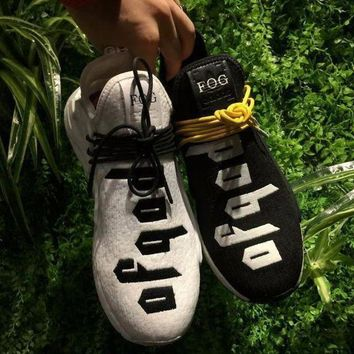 VON3TL Sale Fear of God FOG x Adidas NMD Pharrell Williams Human Race Sport Running Shoes Classic Casual Shoes Sneakers