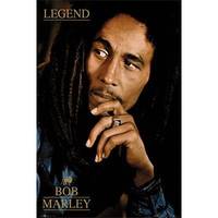 GB Eye Bob Marley Legend Poster