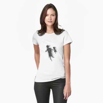 """'""""etching 08 - windy day"""" Apple Pencil drawing' T-Shirt by BillOwenArt"""