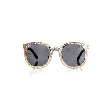 GOLD BAROQUE SUNGLASSES
