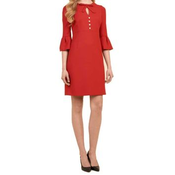 Luisa Spagnoli Galen Red Dress
