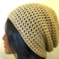 Tan Slouchy Hat Light Brown Womens Hipster Oversize Mens Beanie