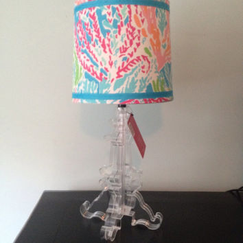 Lilly Pulitzer Let's  Cha Cha  lampshade ONLY