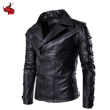 Trendy New Retro Motorcycle Jackets Men Moto Jackets Hip Hop Streetwear Biker Classic PU Leather Jackets Protective Gear Moto Clothing AT_94_13