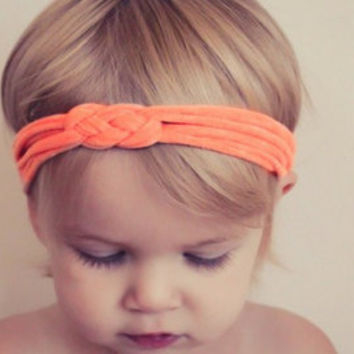 30 COLORS - SALE Celtic Sailor Knot Headbands - Baby 79367d67702