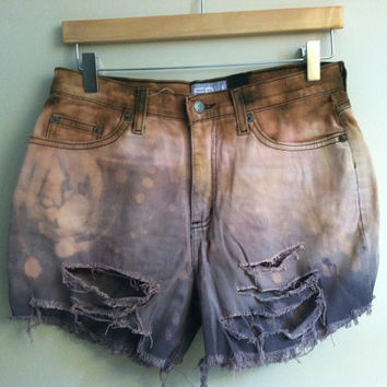 nebular high waisted cutoffs