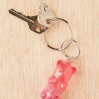 Light-Up Gummy Bear Keychain