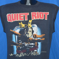 80s Quiet Riot Condition Critical Heavy Metal Rock t-shirt Large