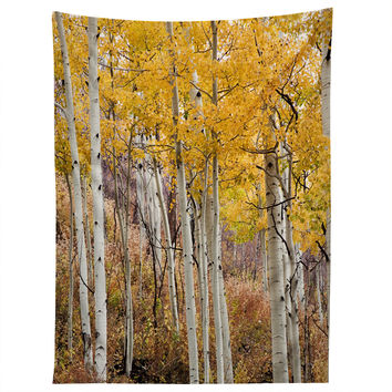 Barbara Sherman Golden Aspens Tapestry