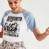 AE Aerosmith Graphic Tee, Blue