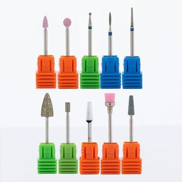 Spherical Nail Drill Burr Bits For Manicure Milling Cutter