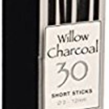 Coates Artist Willow Charcoal Assorted 30 Sticks