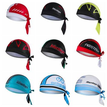 Women Men Cycling Cap Quick-dry Outdoor Sport Bicycle Headscarf Pirate Scarf Hood MTB Racing Bandana Helmet Hat Gorras Ciclismo