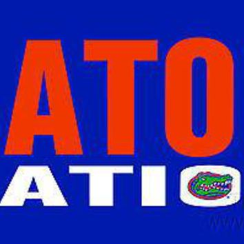 Florida Gators NATION SD Deluxe Laser Cut License Plate Tag University of