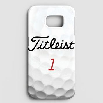Titleist Tour Golf Balls Samsung Galaxy S7 Edge Case
