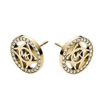 Accessory Simple Design Stylish Alloy Diamonds Earrings [8573752205]