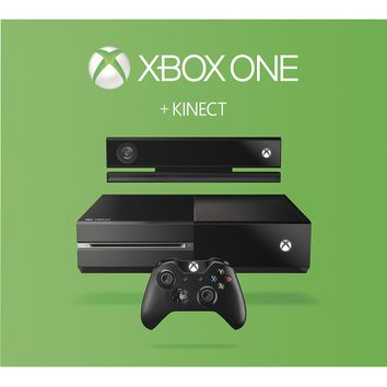 Microsoft - Xbox One with Kinect Bundle - Black