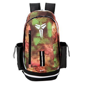 PEAP Nike Fashion Kobe Leisure Sports Travel Backpack Orange Green