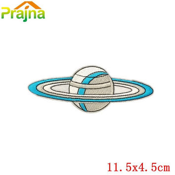 Low Price Applique Space Patch Badges For Clothing Iron On Cheap Embroidered Cartoon Funny Patches For Kids Clothes Stickers