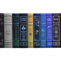 Leather-Bound Canterbury Classics, Set of 12, Fiction Books