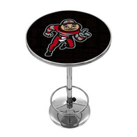 Ohio State Brutus Dash Chrome Pub Table