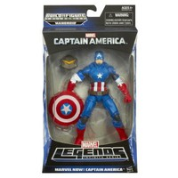 Captain America Marvel Legends Marvel Now! Captain America Figure 6 Inches